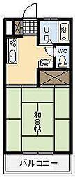 宮崎県宮崎市清武町正手3丁目の賃貸アパートの間取り