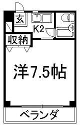 クレイン京都ST[2階]の間取り
