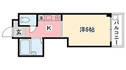 クワドリフォリオ[305号室]の間取り