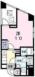 京急本線 金沢八景駅 徒歩3分の賃貸アパート 2階1Kの間取り