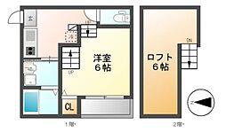 桜ステージ[2階]の間取り