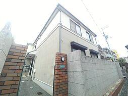 兵庫県神戸市灘区篠原本町1丁目の賃貸アパートの外観