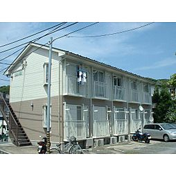 レインボーハイツ平松[203号室]の外観