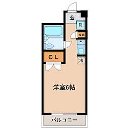 メゾン・ド・リテレール[1階]の間取り
