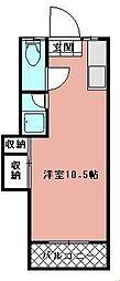 シティベール千代ヶ崎[107号室]の間取り