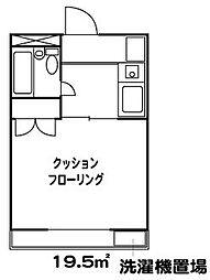 ラブリーメゾン綾瀬[1階]の間取り