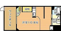 コンプレート千代ヶ崎[1階]の間取り