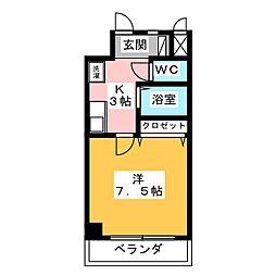 K01[5階]の間取り