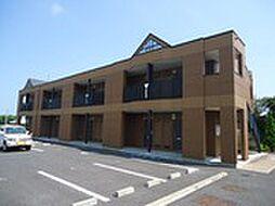 千葉県茂原市六ツ野の賃貸アパートの外観