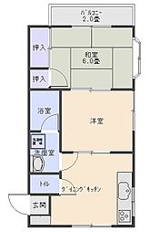 ケイハイツ五井東[105号室]の間取り
