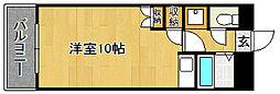 Kステーション八田[205号室]の間取り