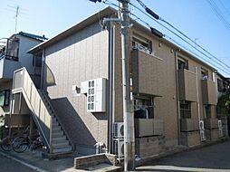 兵庫県尼崎市下坂部1丁目の賃貸アパートの外観