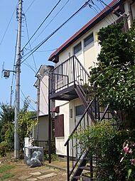 鶴アパート[2F左号室号室]の外観