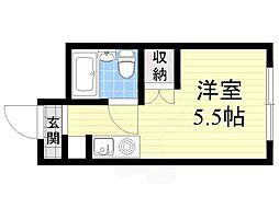 【敷金礼金0円!】大阪市営御堂筋線 大国町駅 徒歩8分