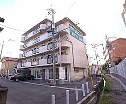 京都府京田辺市興戸久保の賃貸マンションの外観