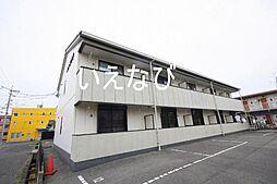 岡山県岡山市南区下中野の賃貸アパートの外観