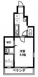 東京都江東区南砂3丁目の賃貸アパートの間取り