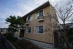福岡県遠賀郡水巻町猪熊1丁目の賃貸アパートの外観