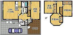[一戸建] 奈良県奈良市杉ヶ町 の賃貸【/】の間取り
