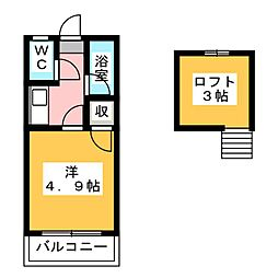 VALUE箱崎[3階]の間取り