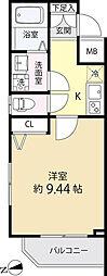 白金高輪レジデンス[4階]の間取り