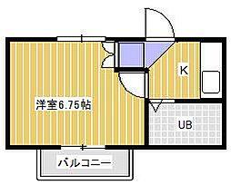 グランコート21[1階]の間取り