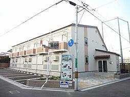 大阪府堺市堺区南三国ヶ丘町2丁の賃貸アパートの外観