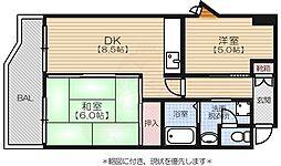 唐人町駅 6.8万円