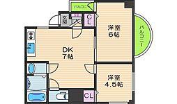 オーナーズマンション阪南[301号室]の間取り