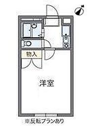 コンフォート新検見川[1階]の間取り