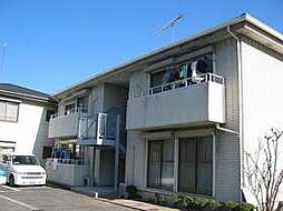 京都府京都市山科区椥辻番所ケ口町の賃貸アパートの外観