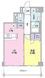 オーキッドテラス宮崎台[2階]の間取り