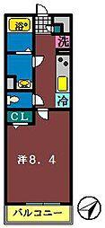 リブリ・船橋宮本[306号室]の間取り