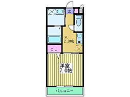 タレイア日本橋[3階]の間取り