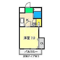 ジョイシティ[2階]の間取り