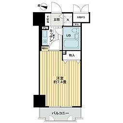 ライオンズマンション三宮東第2[6階]の間取り