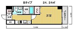 クレアドル須磨3[13階]の間取り