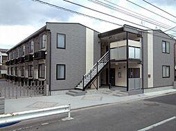 東京都足立区保木間1丁目の賃貸アパートの外観