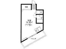 プチコート高幡[2階]の間取り