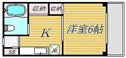 アメティ千川[1階]の間取り