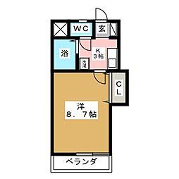 コーポ麿[2階]の間取り