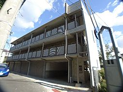 兵庫県神戸市東灘区住吉山手1丁目の賃貸アパートの外観