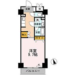 T-1FLAT[9階]の間取り