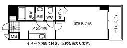 M&Kホープマンション[303号室]の間取り