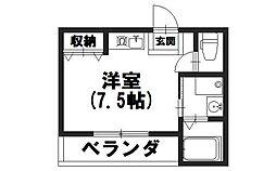 Taiheisou1[202号室]の間取り