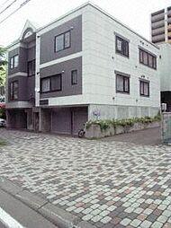 北海道札幌市中央区北四条西15丁目の賃貸アパートの外観