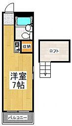 メゾンドセプト[1階]の間取り