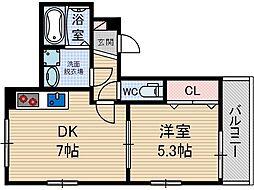 KTIレジデンス総持寺[2階]の間取り