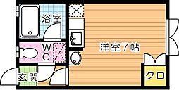 ピサ医生ヶ丘[1階]の間取り