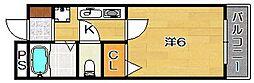 ラフィーネ[2階]の間取り